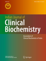 Indian Journal of Clinical Biochemistry {focus_keyword} Tempol for SOD and catalase deficiency in psoriasis Indian Journal of Clinical Biochemistry